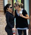 June 26: Jogging with Kim Kardashian in Battery Park