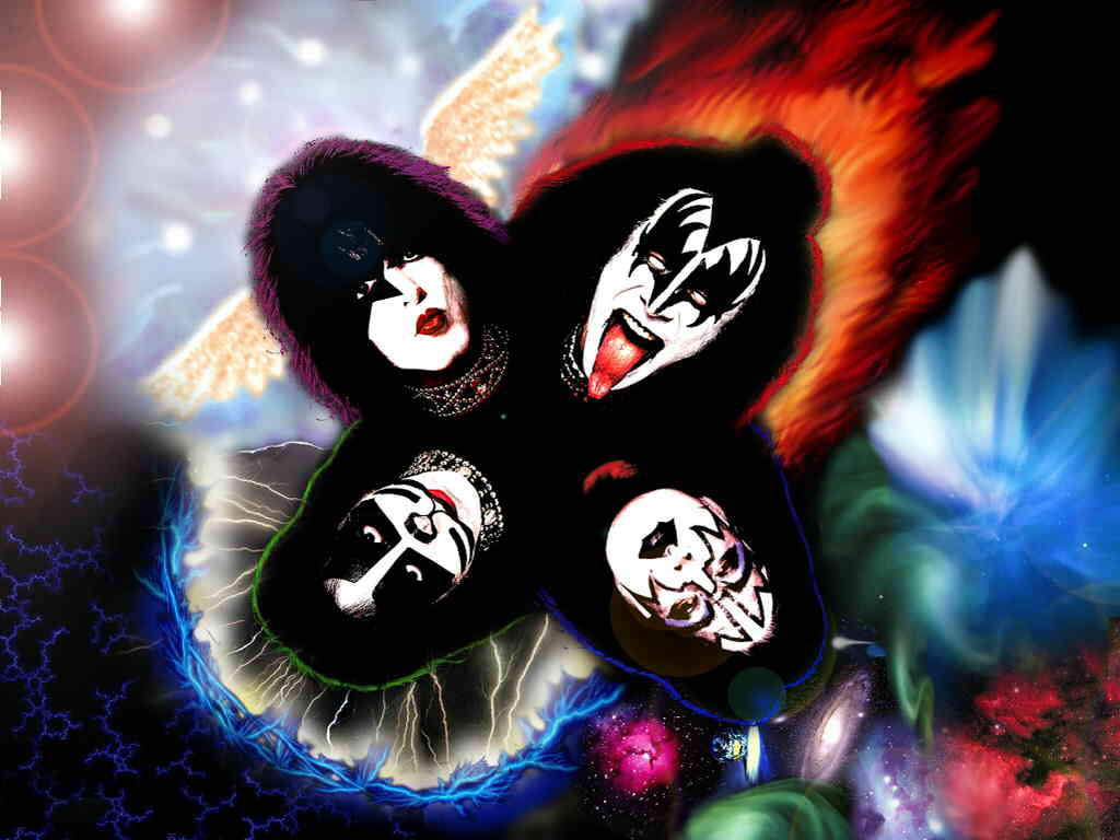 Kiss wallpaper