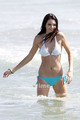 Kendall Jenner in a Bikini on the समुद्र तट in Malibu, July 4