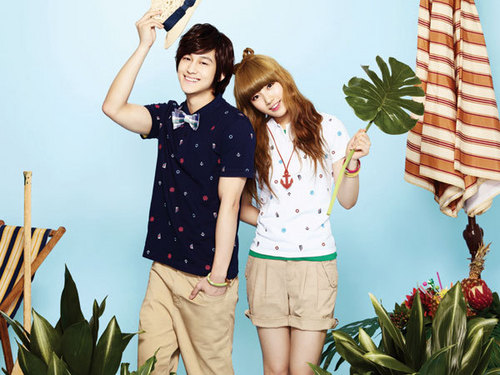 Kim Bum for Edwin [Spring/Summer Collection 2011] (With Miss A)