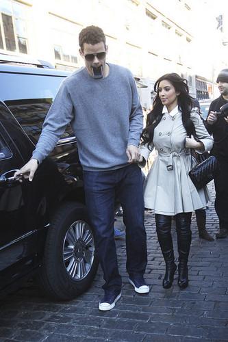 Kim Kardashian and Kris Humphries in NYC