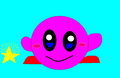 Kirby - Warpstar - kirby fan art