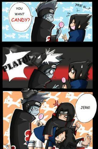 Kisame ad itachi and sasuke funny