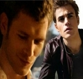 Klaus and Stefan (Paul Wesley)!!!