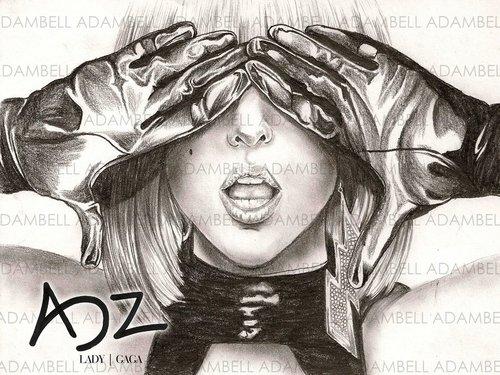 Lady GaGa tagahanga art