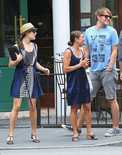 Lea Michele is seen out and about in the West Village of NY, Jul 6