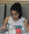 Lourdes Leon spotted out for lunch in London, July 5.
