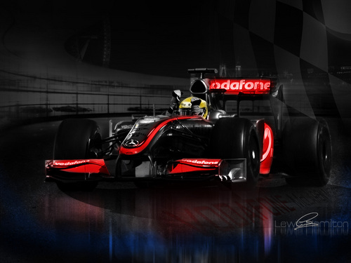 Lewis Hamilton wallpaper called McLaren f1 Lewis Hamilton