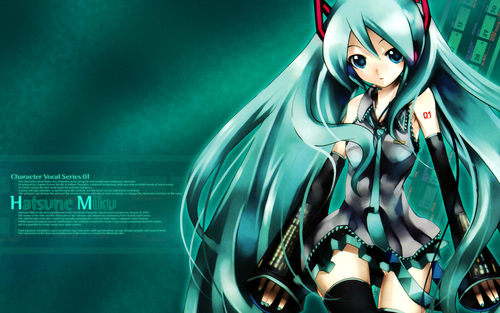 Miku - vocaloids Wallpaper