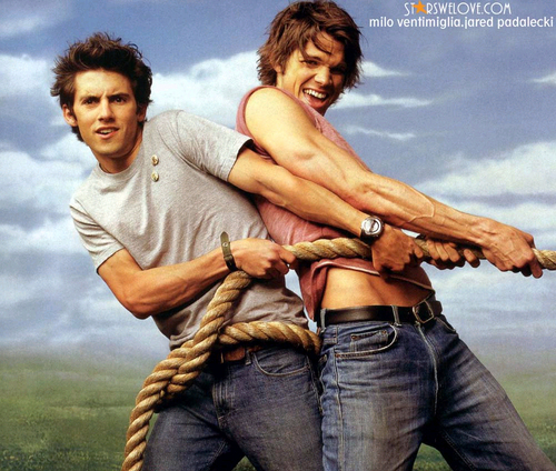 Milo Ventimiglia and Jared Padalecki