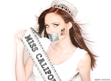 LGBT wallpaper titled Miss USA for NOH8