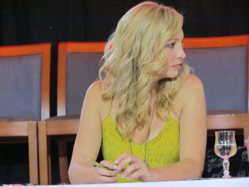 lebih foto of Candice at the 'Mystic Love' convention in Nimes! [Days 1 and 2]