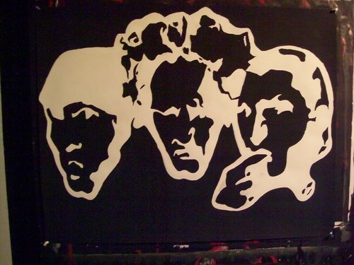 Three Stooges Artwork