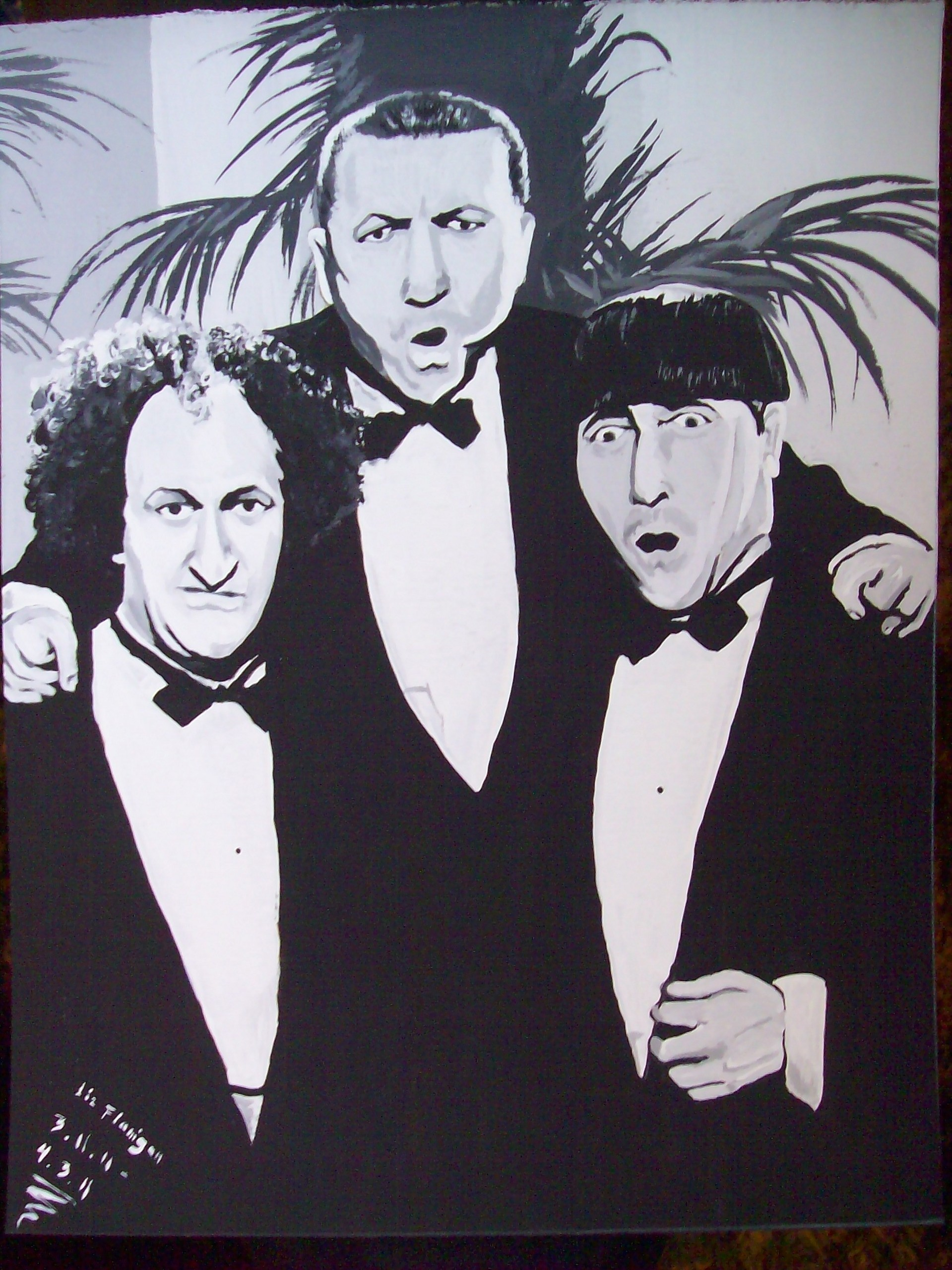 three stooges images three stooges artwork hd wallpaper and