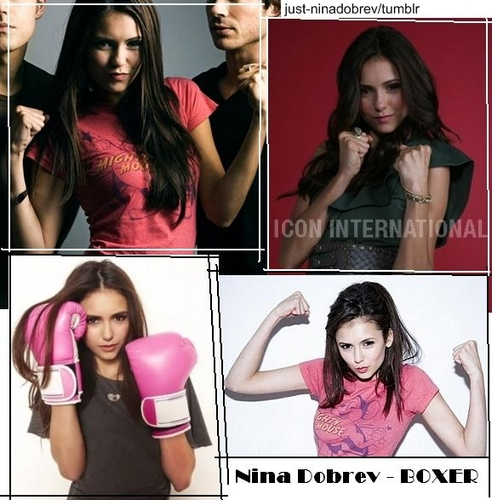 NINA DOBREV means amazing ♥