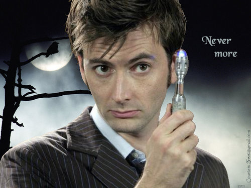 The Tenth Doctor wallpaper called Never more