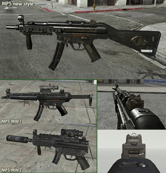 Modern Warfare 3 Images New MP5 For MW3 Wallpaper And Background Photos