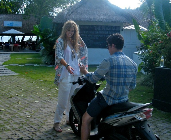 Nick Jonas & Delta Goodrem: On Vacation Together In Bali (June, 2011) !!! - nick-jonas photo