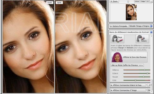 Nina with Blond hair & Blue eyes ^^