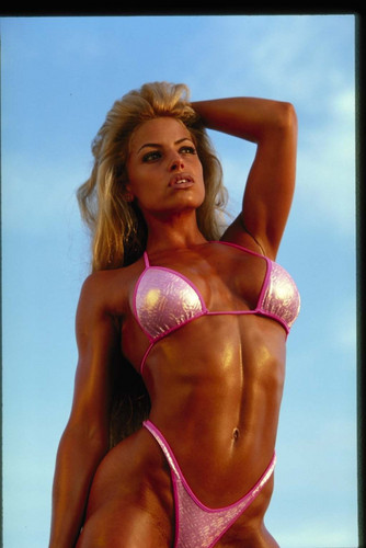 Trish Stratus wallpaper containing a bikini entitled Old Trish Pic