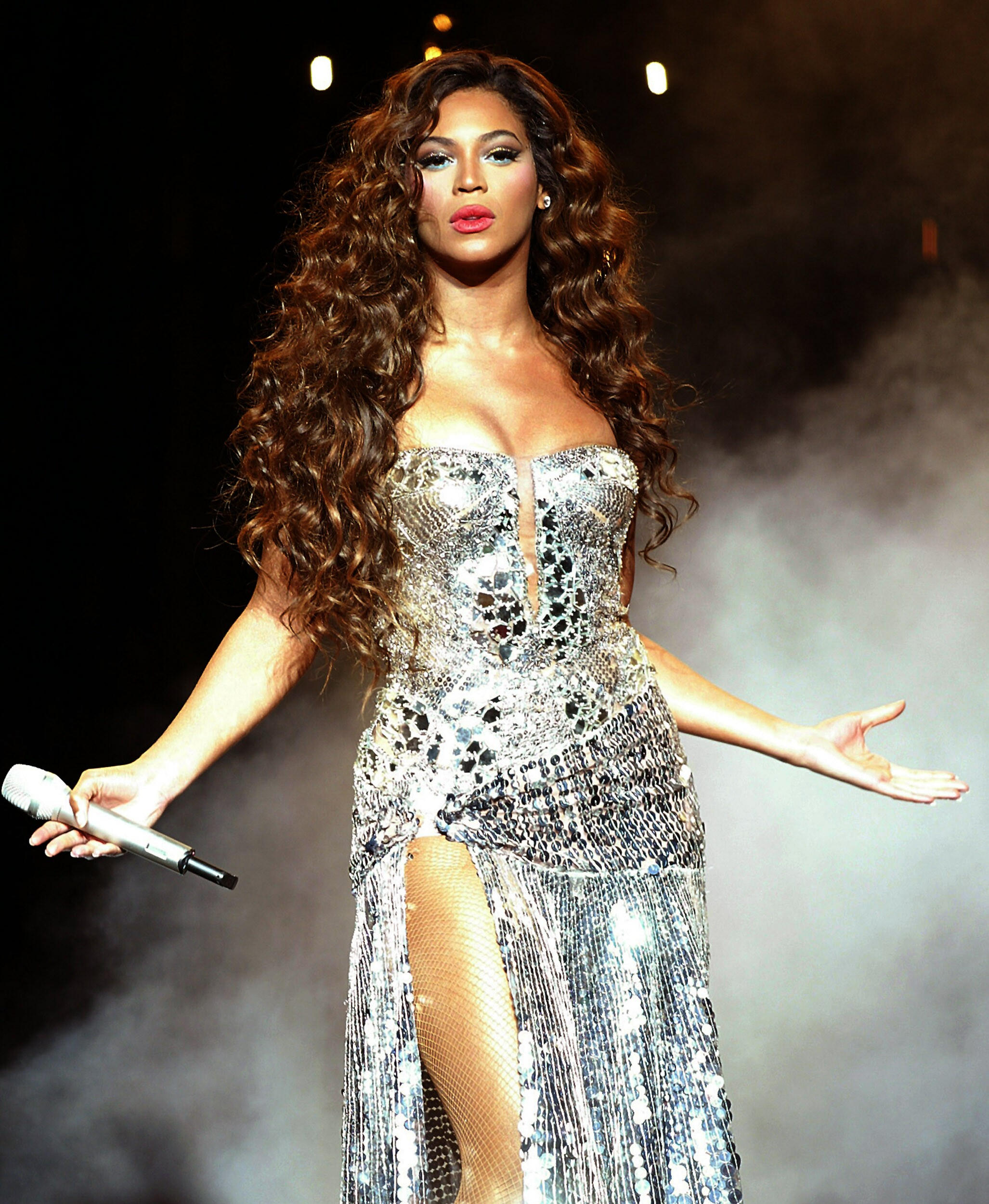 Performs During A konzert At Madison Square Garden In New York
