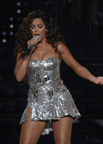 Performs During A Concert At Madison Square Garden In New York