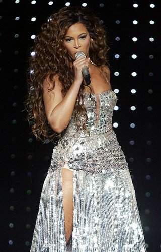 Performs During A concerto At Madison Square Garden In New York