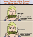 Personality Based on How You Eat Corn - personality-test fan art