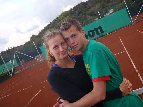 Petra Kvitova (21) and her younger boyfriend Adam Pavlasek (16)