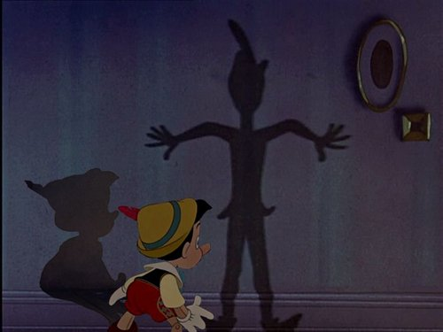 Pinocchio and Peters Shadow
