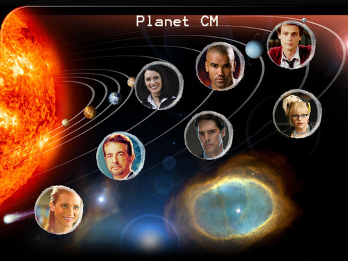 Criminal Minds wallpaper titled Planet CM