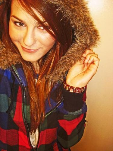Scout Taylor-Compton wallpaper with a fur coat, a mink, and a sable coat called Random Scout Pics