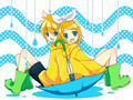 Rin and Len - vocaloids wallpaper