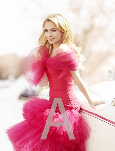 Hayden Panettiere wallpaper possibly with a gown, a bouquet, and a bridesmaid called Robert Erdman