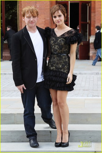 Rupert Grint & Emma Watson: Harry Potter Photocall!