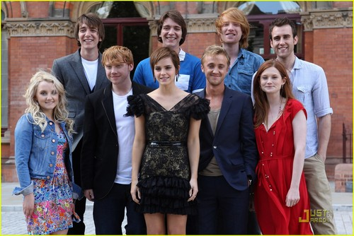 Rupert Grint & Emma Watson: Harry Potter Photocall!