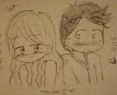 Sam and Fredy i drew this ^^
