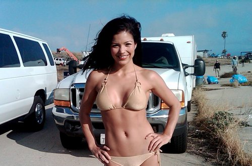 Sandra In Bikini