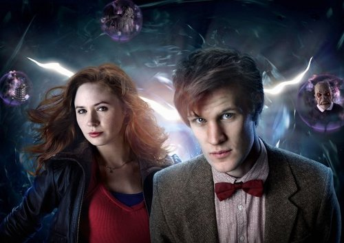 doctor who fondo de pantalla titled Season 5 Cast Promotional fotos