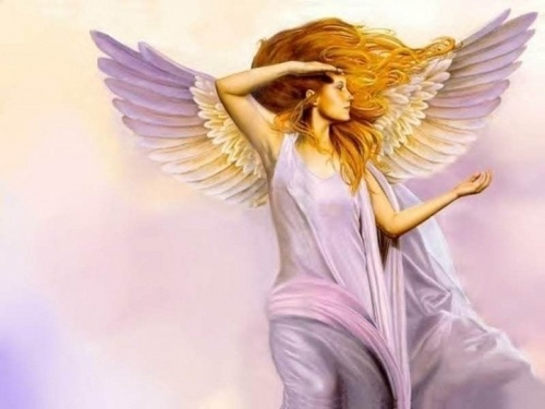 Angels wallpaper possibly with a nightgown titled Seductive Goddess Angel