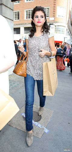 Selena - Shopping at 'Alsaints' in London - July 06, 2011
