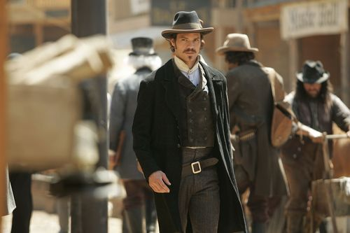 Deadwood wallpaper containing a business suit entitled Seth Bullock