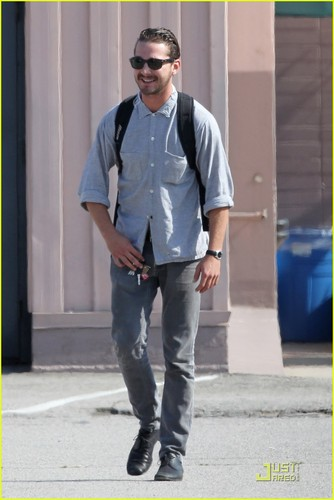 Shia out in LA