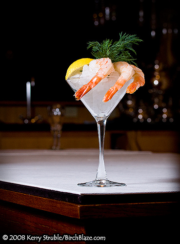 shrimp, kamba cocktail