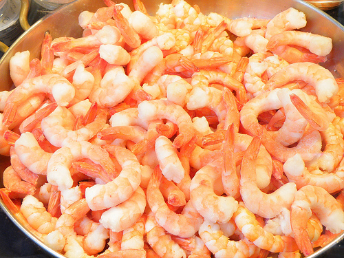 shrimp, kamba so pink