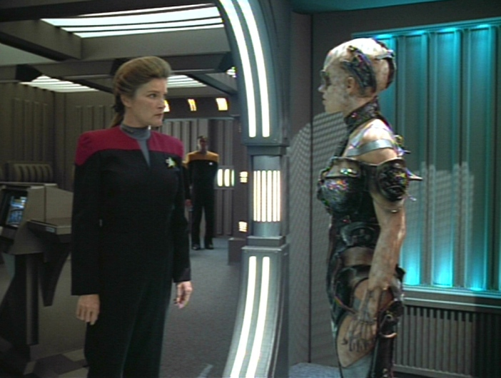star trek voyager and feminism Star trek: voyager (voy) focuses on the 24th century adventures of captain kathryn janeway aboard the uss voyager smaller than either kirk's or picard's starships—its crew complement is only 150—voyager is fast and powerful, and has the ability to land on a planet's surface.