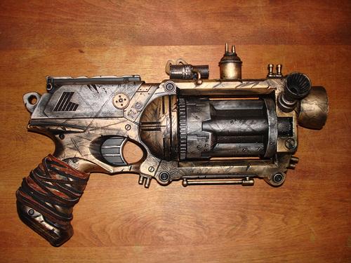 Steampunk images steampunk gun hd wallpaper and background - Nerf wallpaper ...