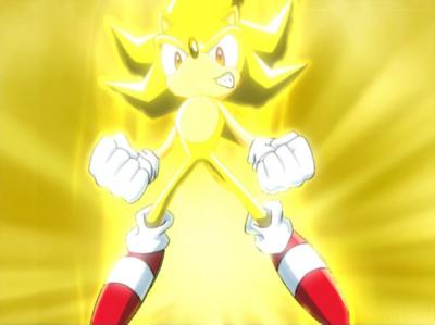 Super Sonic and Super Shadow wallpaper entitled Super Sonic.