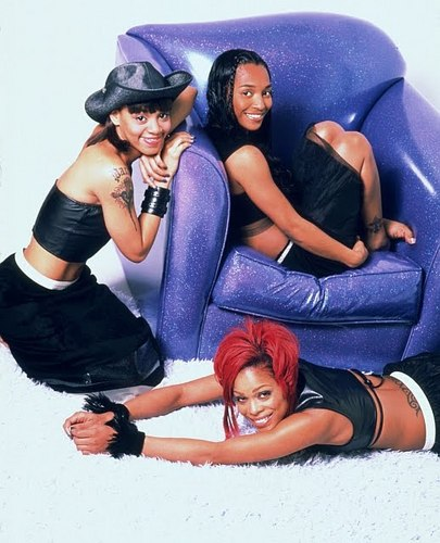 TLC (Music) wallpaper probably containing a fedora entitled TLC Girls <3