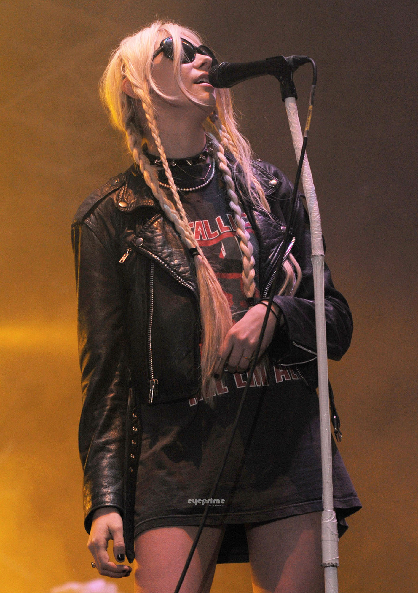 Taylor Momsen seen around during Wireless Festival in London, July 3